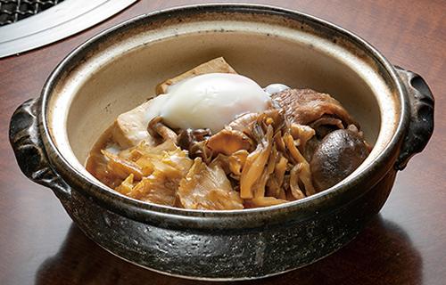 福島牛とキノコのすき煮