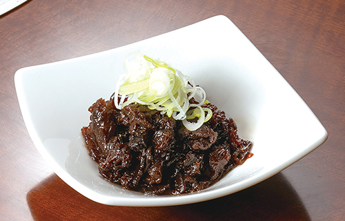 福島牛のしぐれ煮